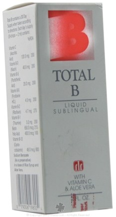 DROPPED: Real Life Research - Total B Liquid Sublingual - 2 oz.