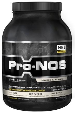 DROPPED: MRI: Medical Research Institute - Pro-Nos Multi-Fractionated Whey Isolate Complex Cookies & Cream - 3 lbs.