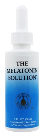 Liquid Solutions - The Melatonin Solution Sublingual Fast-Acting Liquid - 2 oz.