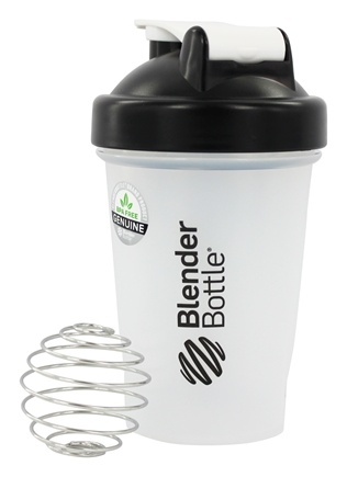DROPPED: Blender Bottle - Classic Black - 20 oz. By Sundesa