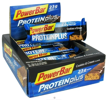 DROPPED: Powerbar - ProteinPlus Bar Cookies & Cream - 2.75 oz.