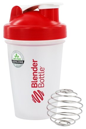 DROPPED: Blender Bottle - Classic Red - 20 oz. By Sundesa