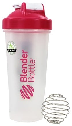DROPPED: Blender Bottle - Classic Pink - 28 oz. By Sundesa