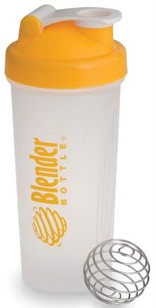 DROPPED: Blender Bottle - Classic Yellow - 28 oz. By Sundesa