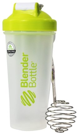 DROPPED: Blender Bottle - Classic Green - 28 oz. By Sundesa