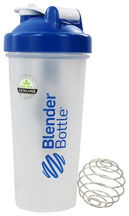 DROPPED: Blender Bottle - Classic Blue - 28 oz. By Sundesa