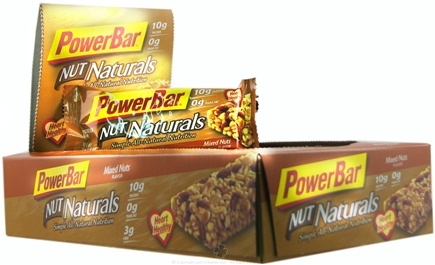 DROPPED: Powerbar - Nut Naturals Bar Mixed Nuts - 1.58 oz.