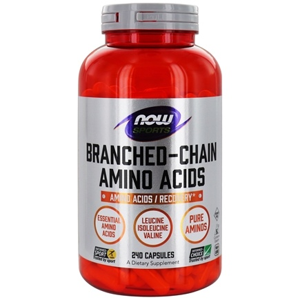 NOW Foods - Branched Chain Amino Acids - 240 Capsules