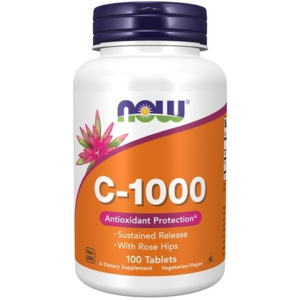 DROPPED: NOW Foods - C-1000 Antioxidant Protection - 100 Tablets