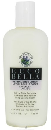 DROPPED: Ecco Bella - Herbal Body Lotion Lavender - 4.5 oz. SPECIALLY PRICED