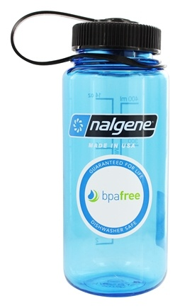 Nalgene - Everyday Tritan BPA Free Widemouth Water Bottle Slate Blue - 16 oz.
