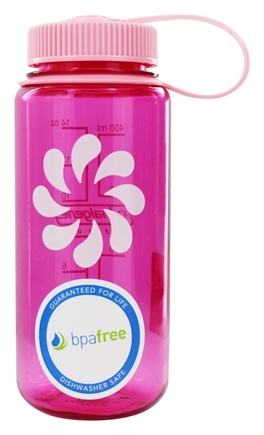 DROPPED: Nalgene - Everyday Tritan BPA Free Widemouth Water Bottle Pretty Pink - 16 oz.