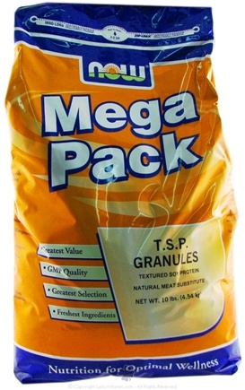 DROPPED: NOW Foods - TSP Granules Mega Pack - 10 lbs. CLEARANCE PRICED