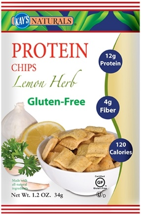 DROPPED: Kay's Naturals - Better Balance Protein Chips Lemon Herb - 1.2 oz. CLEARANCE PRICED