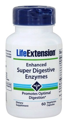 DROPPED: Life Extension - Enhanced Super Digestive Enzymes - 60 Vegetarian Capsules
