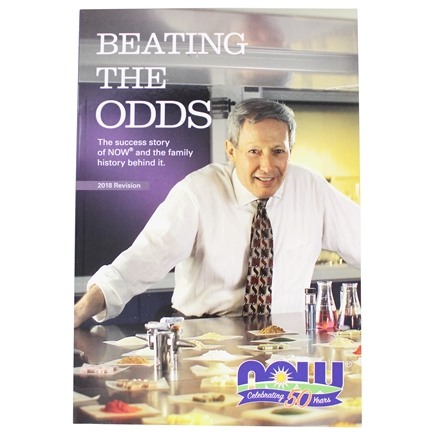 DROPPED: NOW Foods - Beating The Odds - 1 Book CLEARANCE PRICED