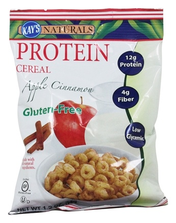 Kay's Naturals - Better Balance Protein Cereal Apple Cinnamon - 1.2 oz.