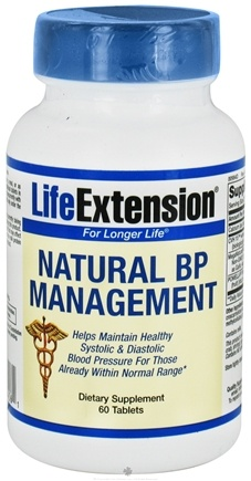 DROPPED: Life Extension - Natural BP Management - 60 Tablets