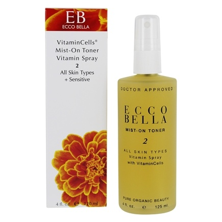 DROPPED: Ecco Bella - Mist on Toner For All Skin Types - 4 oz.