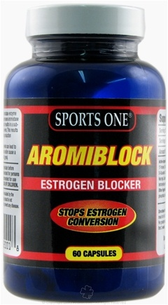 DROPPED: Sports One - Aromiblock Estrogen Blocker - 60 Capsules