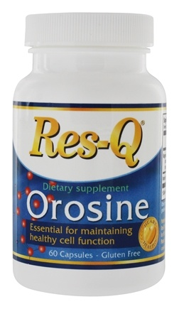 DROPPED: Res-Q - Orosine Essential for Maintaining Healthy Cell Function - 60 Capsules