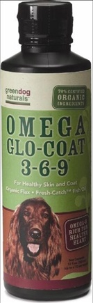 DROPPED: Green Dog Naturals - Omega Glo-Coat 3-6-9 - 12 oz. CLEARANCE PRICED