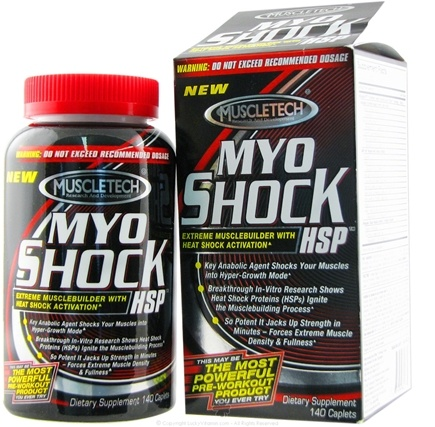 DROPPED: Muscletech Products - MyoShock HSP - 140 Caplets