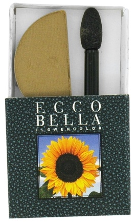 DROPPED: Ecco Bella - FlowerColor Eyeshadow Warm Khaki - 0.05 oz.
