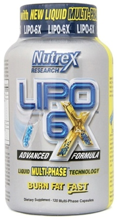 DROPPED: Nutrex - Lipo 6X - 120 Capsules CLEARANCE PRICED