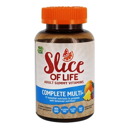 Hero Nutritionals Products - Slice of Life Complete Multi+ Adult Gummy Vitamins - 60 Gummies