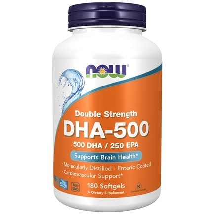 NOW Foods - Highest Potency DHA-500 - 180 Softgels