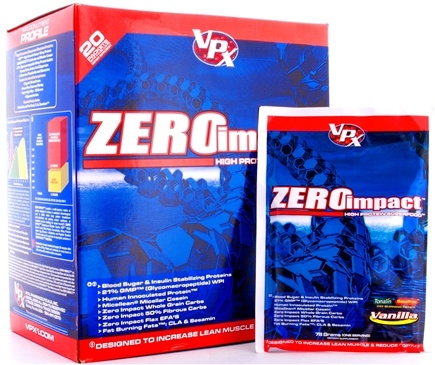 DROPPED: VPX - Zero Impact High Protein Superfood Vanilla - 20 Packet(s) CLEARANCE PRICED