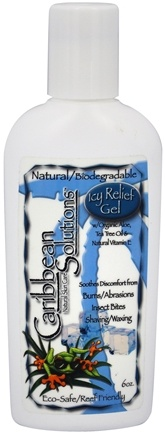 Caribbean Solutions - Icy Relief Gel - 6 oz.