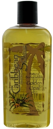 DROPPED: Caribbean Solutions - Golden Opal Dry Tanning Oil - 4 oz. CLEARANCE PRICED