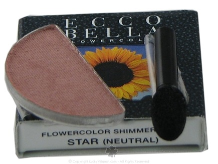 DROPPED: Ecco Bella - FlowerColor Shimmer Dust Neutral Star - 0.05 oz. CLEARANCE PRICED