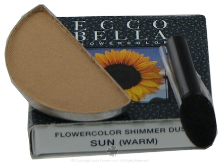 DROPPED: Ecco Bella - FlowerColor Shimmer Dust Warm Sun - 0.05 oz. CLEARANCE PRICED