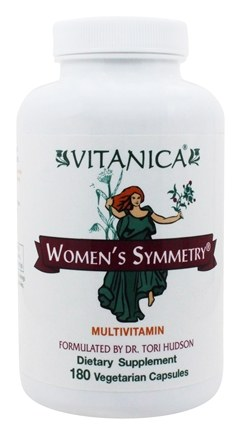 Vitanica - Women's Symmetry Multivitamin - 180 Capsules