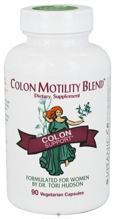 DROPPED: Vitanica - Colon Motility Blend - 90 Capsules CLEARANCE PRICED