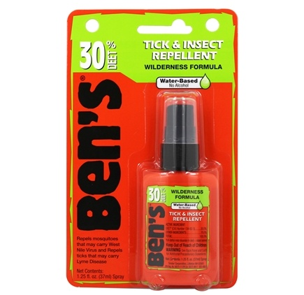 Ben's - 30 Wilderness Formula Deer Tick & Insect Repellent - 1.25 oz.
