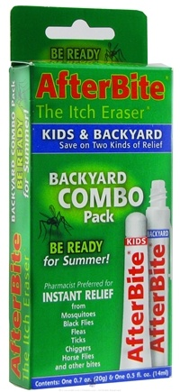 DROPPED: Tender - AfterBite Backyard Insect Bite Relief Combo Pack - 2 Tubes CLEARANCE PRICED
