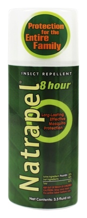 DROPPED: Natrapel - Deet-Free 8-Hour Insect Repellent - 3.5 oz.
