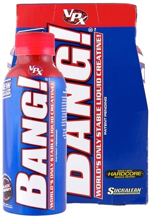DROPPED: VPX - Bang RTD Stable Liquid Creatine Drink Black Cherry - 4 Pack(s) CLEARANCE PRICED