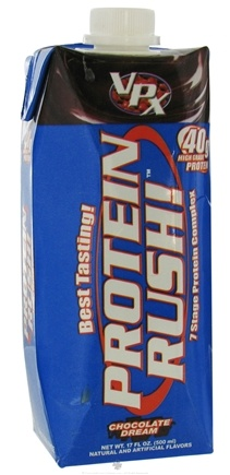 DROPPED: VPX - Protein Rush RTD 7 Stage Protein Complex Chocolate Dream - 17 oz. (formerly called Muscle Power)