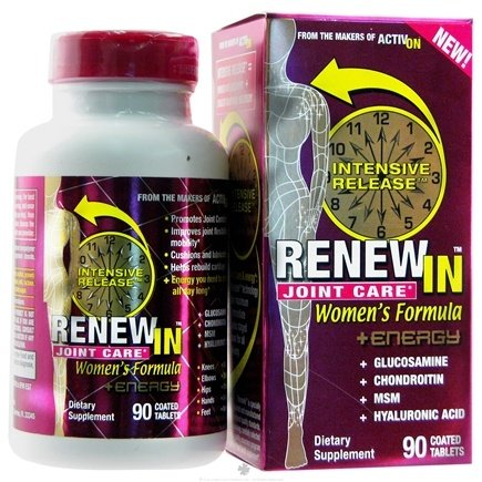 DROPPED: Miralus Healthcare - Renew In Joint Care Women's Formula Plus Energy - 90 Tablets