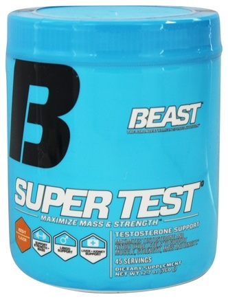 DROPPED: Beast Sports Nutrition - Super Test Powder Iced-T Flavor - 12.7 oz.
