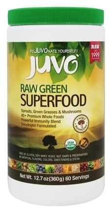 Juvo Inc. - Raw Green Superfood - 12.7 oz.