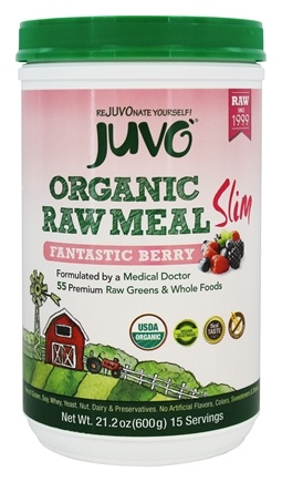 Juvo Inc. - Slim Raw Meal Whole Food Fantastic Berry - 21.2 oz.