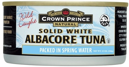 DROPPED: Crown Prince Natural - Solid White Albacore Tuna - 12 oz. CLEARANCE PRICED