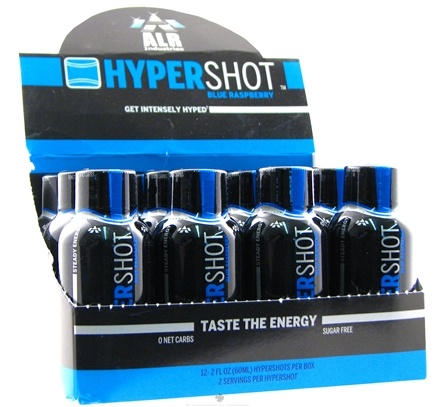 DROPPED: ALRI - Hypershot Energy Shot Blue Raspberry - 2 oz.