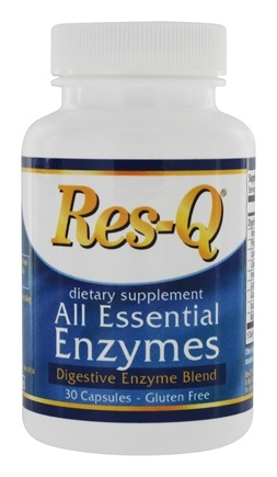 DROPPED: Res-Q - All Essential Enzymes Digestive Blend - 30 Capsules